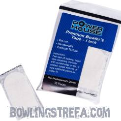"1"" PowerHouse Premium Tape White (30 szt)"