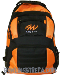 Motiv Zipline Backpack Orange Blck